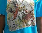 Camisa de São Jorge Ilustrada