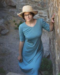 65 отметок «Нравится», 10 комментариев — Платья красивых размеров (@candytale.dress) в Instagram: «Покажу немного из быстро сшитого себе перед отпуском.  Платье -100% хб трикотаж. Очень женственное,…»