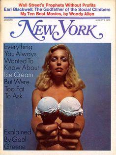 Tekneitalia - ice cream poster - www.tekneitalia.com - new york magazine