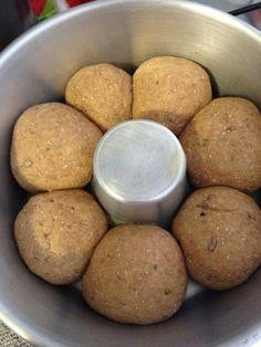 Pão integral com óleo de coco