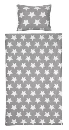 Dekbedset Mick: stoer dekbedovertrek met sterren, in verschillende afmetingen verkrijgbaar #stoere #slaapkamer