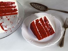 A traditional recipe and history for Red Velvet Cake from food historian Gil Marks on The History Kitchen