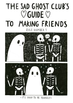Very pleased to share Rule Number One from the next sad ghost club guide!Facebook//Twitter//Instagram