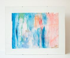 The Pelly Pt. I // Multi-Color Abstract Fine Art Giclee by MadelynNicoleStudio