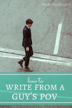 Writing from the opposite gender can be hard - this article makes it a little easier!