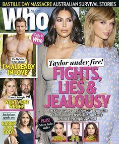 @whomagazine #magazines #covers #August #2016 #celebrity #taylorswift #kardashian #thebachelor #JenAniston