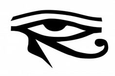 This is about the Eye of Horus tattoo.