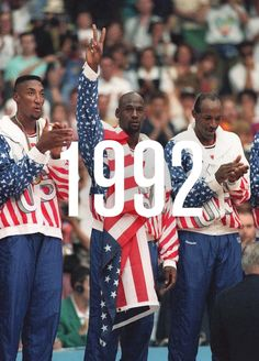 1992. The Dream Team. If you can figure out why I put this in my March board, you win! #TrapMusicRadio http://www.slaughdaradio.com