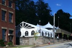 Oktoberfest preparations at Penn Brewery are getting IN-TENTS!