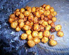Crispy Cinnamon Garbanzo Beans | Recipe | Cinnamon, Garbanzo Bean ...