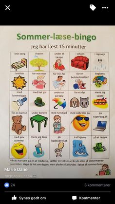 Læse tips Norwegian Words, Cooperative Learning, Happy Boy, 5th Grades, Bingo, Danish, Norway, Preschool, Teaching