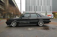 OLD PARKED CARS.: 1984 Audi 4000CS Quattro.