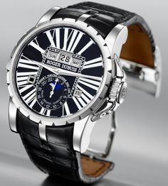 Roger Dubuis Excalibur Perpetual Calendar, Minute Repeater and Tourbillon #rogerdubuis #grandecomplication #sihh2008