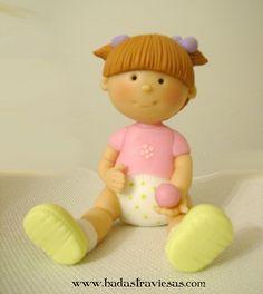 bebota 2 by hadastraviesas, Porcelana fria, pasta francesa, masa flexible, fimo, polymer clay, porcelain froid, modelado, figurine