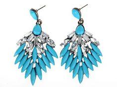 Glamour Girl Designs #vintage-style #pierced #earrings