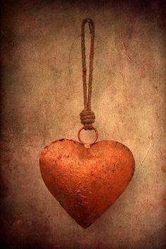 Heart in terra cotta orange on tan background I Love Heart, With All My Heart, Happy Heart, Heart Of Gold, Orange Mode, Follow Your Heart, Felt Hearts, Copper Color, Heart Art