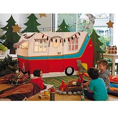Jetaire Camper Kids Play Tent in Play Houses & Tents | The Land of Nod #nodwishlistsweeps