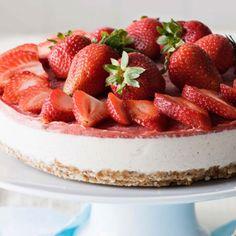 Sobrevive à Páscoa sem engordar | Cheesecake saudável e simples (sem açúcar e sem glúten)