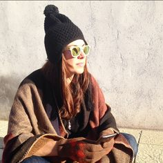 #Isasaweis wearing Northweek Bamboo Gold Polarized #Northweek #Sunglasses #Customizable #Polarized #Barcelona #wood #Northwood