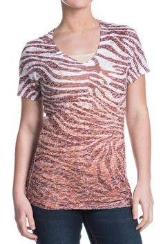 Type 3 Tiger Stripes Hot-T in Brown - $22.97