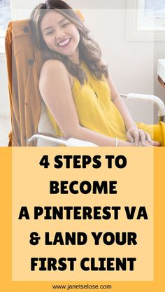 Do you want to become a Pinterest VA? Follow the exact strategy I did to get my first client at more than $30/hr.