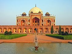 India-0155 - Humayun's Tomb by archer10 (Dennis) Happy Holidays, via Flickr