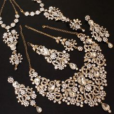 Jewellery set for brides #Fashion