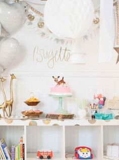 This whimsical second birthday party theme is adorable and unforgettable.