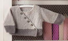 Tijdschrift Baby 58 Herfst / Winter | 50: Baby Jas | Beige / Medium grijs