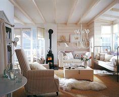 Балки на потолке в интерьере - фото вариантов, дизайн потолочных фальш-балок