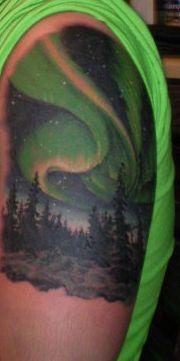 3b5cc587da9c6 32 Best Aurora Borealis Tattoos images in 2017 | Aurora tattoo ...