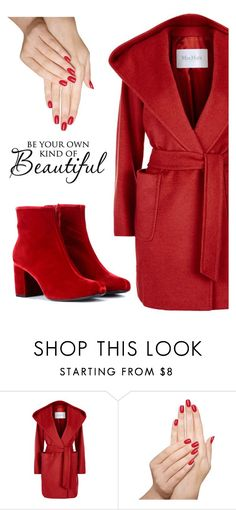 """""""Untitled #610"""" by ellma94 ❤ liked on Polyvore featuring MaxMara, Piggy Paint and Yves Saint Laurent"""