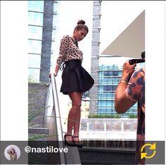 LOVE Chiara Nasti #testimonial #maisonespin #fw14 #collection #lovely #backstage #madewithlove #chiaranasti