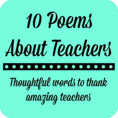Teacher Appreciation Week is coming up May 5 through May so we've been busy getting our gifts prepared for… Teacher Appreciation Poems, Teacher Poems, Teacher Thank You, Poems About Teachers, Employee Appreciation, Teacher Treats, Teacher Gifts, Teacher Stuff, Teacher Cards