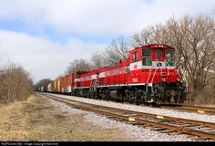 RailPictures.Net Photo: WSOR 1503 Wisconsin & Southern EMD MP15AC at Slinger, Wisconsin by Nick Hart