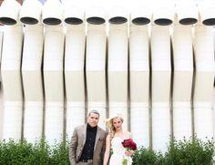 Modern Urban Wedding. Modern Wedding Photography by Carly Loves Amos. http://www.carlylovesamos.com