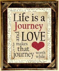 custom barnwood frames life is a journey framed print 4500 http