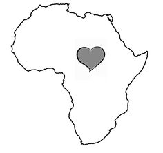 My heart will always be in Africa - My tattoo