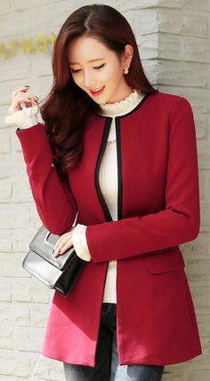 site>>PANDORA Jewelry Online Shop More than off! Korean Fashion Ulzzang, Korean Street Fashion, Korean Outfits, Skirt Fashion, Fashion Outfits, Fashion Clothes, Women's Fashion, Elegant Outfit, Chic Dress