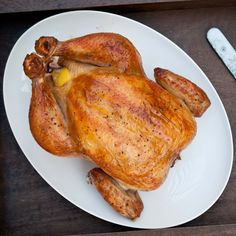 beer brined roast chicken 3