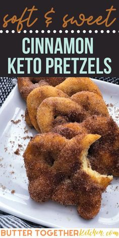 These soft and chewy cinnamon pretzels are the perfect sweet treat and go nicely with a cream cheese dip!  This is an easy keto recipe you will want to over and over again! Everyone in the family will love this healthy alternative  to the cinnamon pretzels loaded with sugar. #ketopretzels #ketocinnamonpretzels #ketodessert #ketobread #keto #sugarfree #lowcarb #cinnamon Low Carb Sweets, Low Carb Desserts, Low Carb Recipes, Diet Recipes, Sausage Recipes, Chili Recipes, Mexican Recipes, Recipes Dinner, Smoothie Recipes