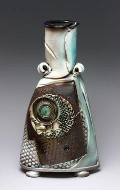 Sandra Blain | 'Inward' Handbuilt, glazed stoneware