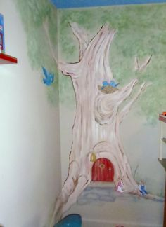 Tree Mural By Amy Smith