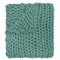 Your Lifestyle by Donna Sharp Chunky Knit Throw - Overstock - 21529411 Shabby Chic Material, Most Comfortable Sheets, Chunky Knit Throw, Chunky Knits, Visual Texture, Looks Chic, Knitted Blankets, Throw Blankets, Fashion Room