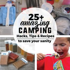25+ Camping Recipes and Hacks