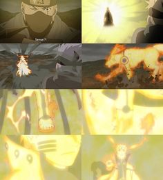 Naruto in Tailed Beat Sage mode