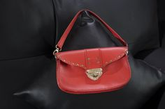 Red Small Shoulder Purse by lutonbags, $83.00 USD