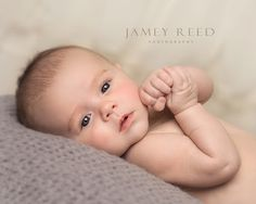 Jamey Reed Photography - Google+ - PRECIOUS little three month old baby boy ~ Bundle of Joy ~ Studio Photography ~ Alabama Child Photographer ~ Guntersville, Alabama ~ Beautiful child