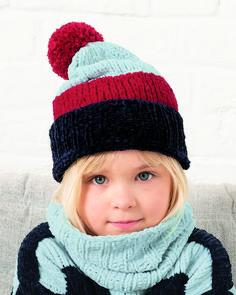 Filles Enfants Tricot Chaud Chapeau d/'hiver Taille 6-12 ans neuf Tie Up