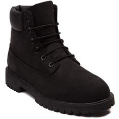 """Tween Timberland 6"""" Classic Boot (€94) ❤ liked on Polyvore featuring shoes, boots, breathable boots, genuine leather boots, timberland boots, rugged boots and light weight boots"""